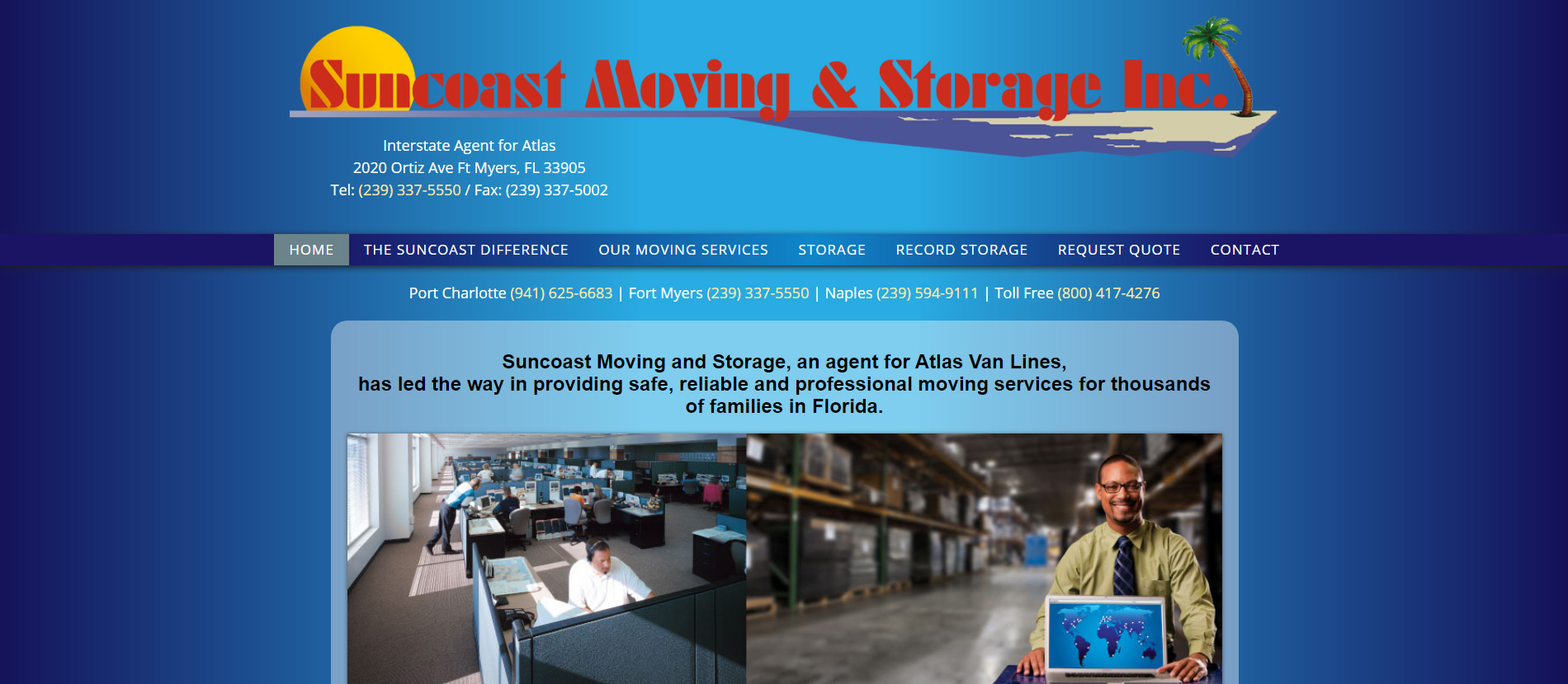 Suncoast Moving and Storage