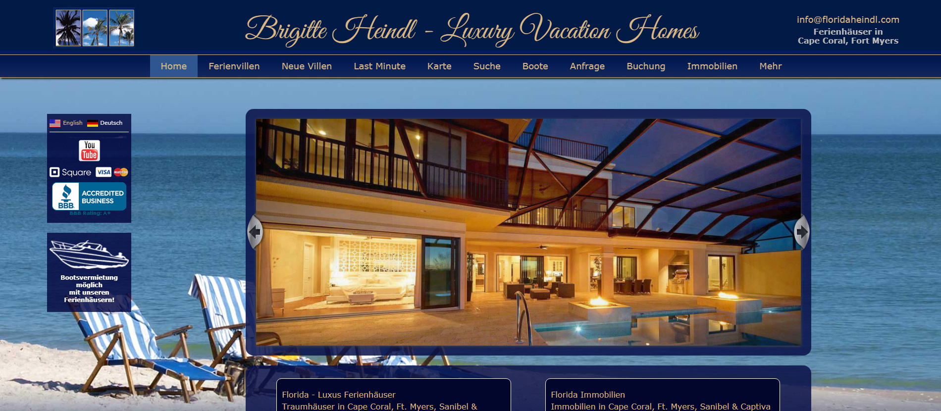 Brigitte Heindl - Luxury Vacation Homes