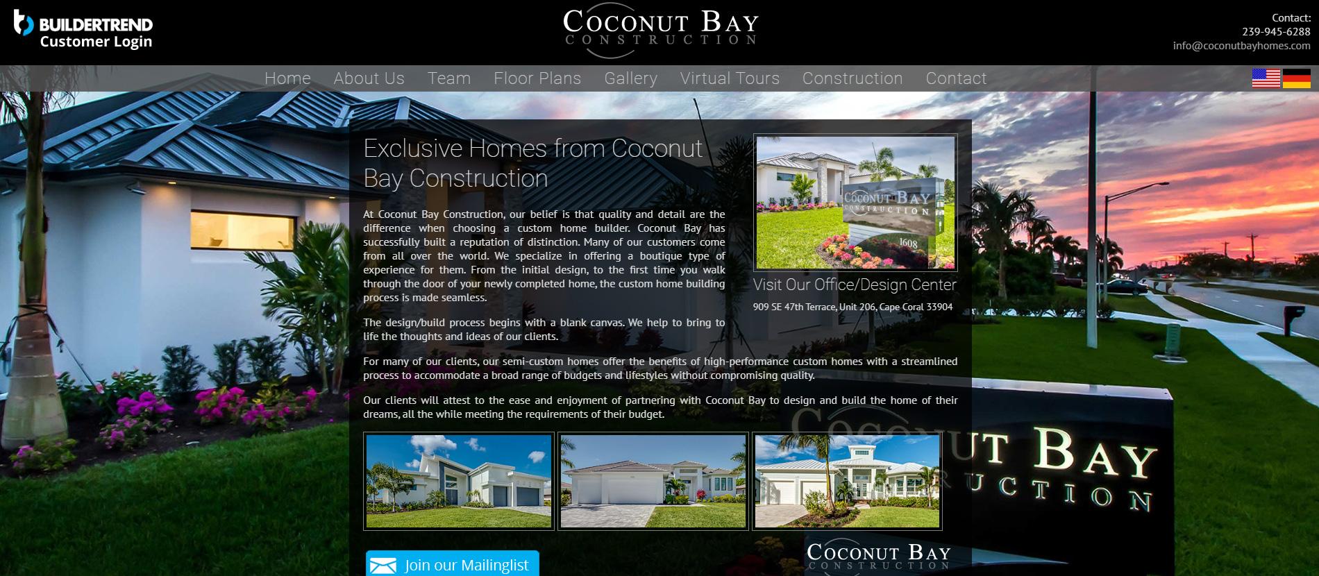 Coconut Bay Construction
