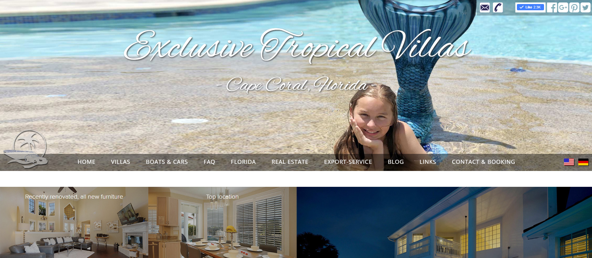 Exclusive Tropical Villas