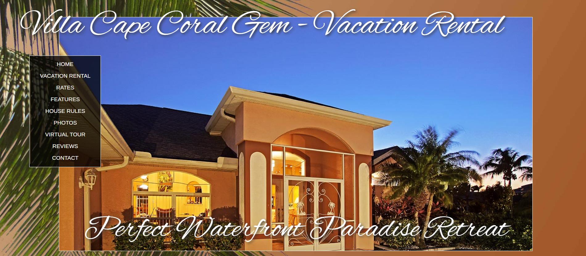 Villa Cape Coral Gem